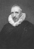 Jan Gaspar Gevartius. (1593-1666) on engraving from the 1800s. Reputable philologist, Neo-Latin poet and historiographer. Engraved by J.Rogers from a picture by Stock Images