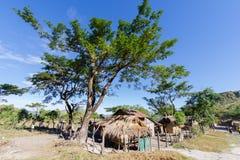 Jan. 14,2018 an gebürtigem Dorf Philippinen Aeta Stockfotos