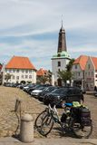 Jan 2013, glueckstadt germnay, Old historic church Royalty Free Stock Image