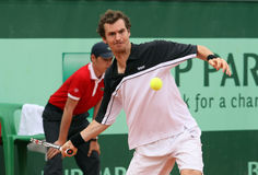 Jan Hernych (CZE) at Roland Garros 2011 Stock Image