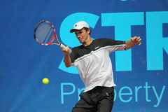 Jan Hernych - Prague Open 2011 Royalty Free Stock Photography
