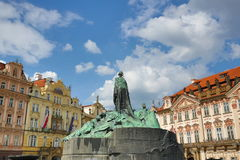 Jan Hus, Church of Our Lady before Tyn, Prague, Czech Republic Royalty Free Stock Image