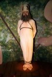 Jan Hus in Grevin museum of the wax figures in Prague. Royalty Free Stock Photos