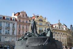 Jan Hus Memorial Stock Photography