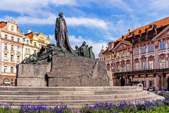 The Jan Hus Memorial Royalty Free Stock Image