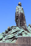 Jan Hus Memorial, Prague Stock Photography