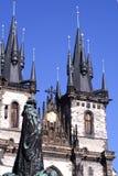 Jan Hus monument-I-Praag Royalty-vrije Stock Afbeelding
