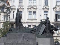 Jan Hus Monument, Praag Royalty-vrije Stock Afbeeldingen