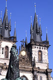 Jan Hus Praga Obraz Royalty Free