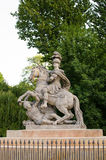 Jan III Sobieski monument Royalty Free Stock Images
