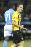 Jan Lecjaks Young Boys Berne v FC Naples Liga Europa Stock Photos