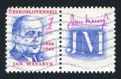 Jan Masaryk Stock Image