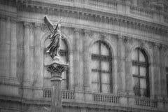 Jan Palach广场,布拉格 免版税库存图片