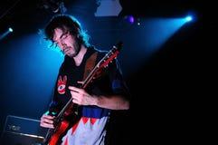 Jan Paternoster, singer of the Belgian garage rock band Black Box Revelation Royalty Free Stock Image