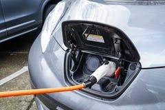 Jan 19, 2018, - Portlandzki Lub Elektryczny pojazdu Ładować Obrazy Stock