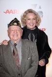 Jan Rooney,Mickey Rooney Royalty Free Stock Image