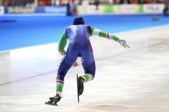 Jan Smeekens - speed skating Stock Image
