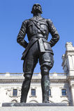 Jan Smuts Statue in London Stock Photography