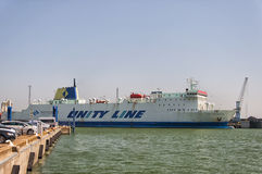 Jan Sniadecki Unity Line Ferry fotografia stock libera da diritti