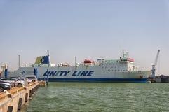 Jan Sniadecki Unity Line Ferry Royalty Free Stock Photography
