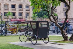 Jan 21,2018 Tricycle in Fort Santiago , Intramuros, Manila. Philippines Stock Photos