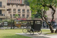Jan 21,2018 Tricycle in Fort Santiago , Intramuros, Manila. Philippines Stock Photo