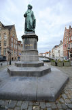 Jan Van Eyck statue Stock Photography