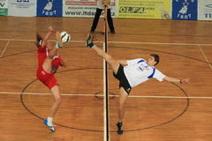 Jan Vanke and Milos Petrina - futnet Royalty Free Stock Photography