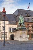 Statue of Jan Wellem, Dusseldorf, Germany stock images