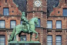 Jan Wellem Statue Imágenes de archivo libres de regalías
