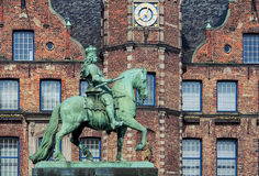 Jan Wellem Statue Royalty Free Stock Images