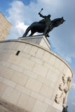 Jan Zizka statue and museum in Prague Royalty Free Stock Photography