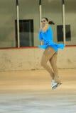 Jana Jechova - patinaje artístico en Praga Fotografía de archivo