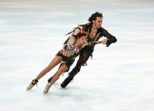 Jana Khokhlova y Sergei Novi Foto de archivo libre de regalías