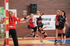 Jana Knedlikova - handball Royalty Free Stock Photography