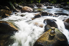Janda Baik downstream Royalty Free Stock Photo