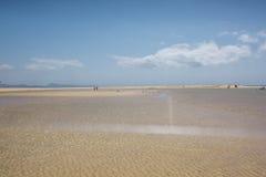 Jandia,费埃特文图拉岛海滩  免版税库存照片