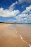 Jandia beach. On Fuerteventura, Canary Islands Royalty Free Stock Photo