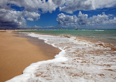 Jandia beach. On Fuerteventura, Canary Islands Royalty Free Stock Images