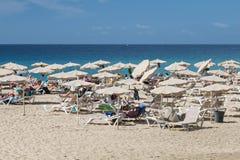 Jandia Beach in Fuerteventura, editorial Royalty Free Stock Images