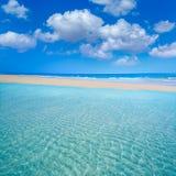 Jandia beach Mal Nombre Fuerteventura. At Canary Islands of Spain Stock Image
