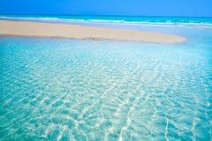 Jandia beach Mal Nombre Fuerteventura. At Canary Islands of Spain Royalty Free Stock Photo