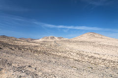 Jandia Landscape, Fuerteventura. Mountain landscape in Jandia, Fuerteventura Stock Photo