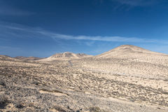 Jandia Landscape, Fuerteventura Royalty Free Stock Photography