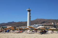 Jandia Lighthouse, Fuerteventura Stock Photography