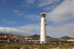 Jandia Lighthouse, Fuerteventura Stock Photo