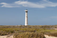 Jandia Lighthouse, Fuerteventura Royalty Free Stock Photography