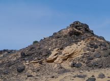 The Jandia nature park on Fuerteventura in Spain Stock Photos