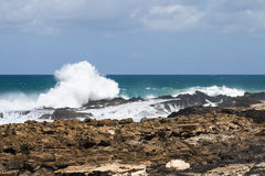Jandia North Coast, Fuerteventura Royalty Free Stock Images