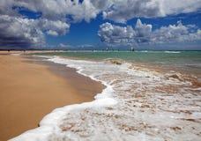 Jandia plaża Obrazy Royalty Free